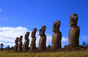 Easter Island is Moai site